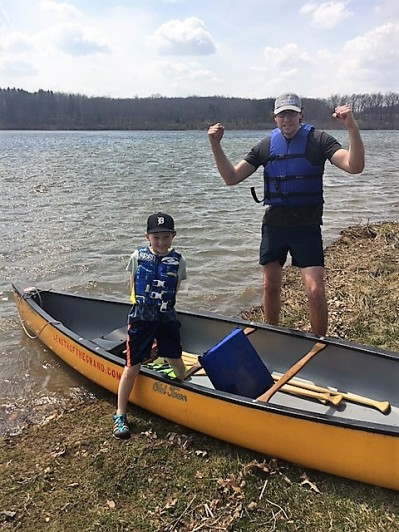 Grand Lk with grandson