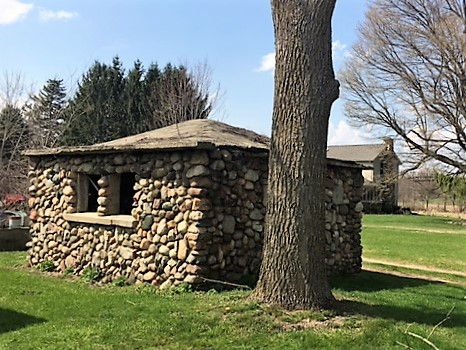 stone building near grand lake