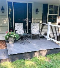 Porch after renovation